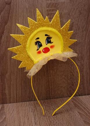 Обруч ободок солнце сонце солнышко сонечко