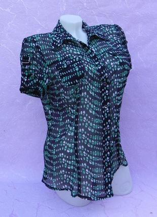 Блуза блузка рубашка шифоновая debenhams