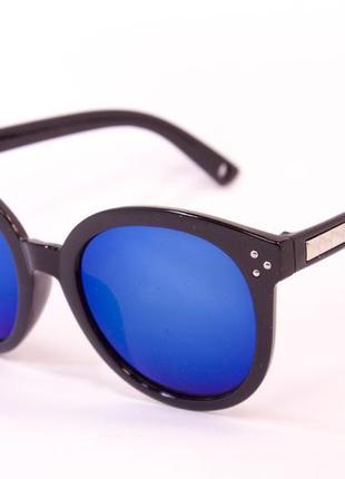 Круглые очки 9736. солнцезащитные очки. очки. яркие очки. очки в стиле avatar