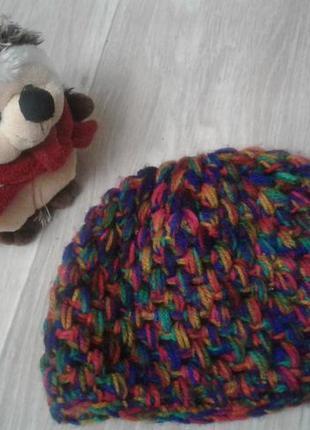 Стильная шапка на 1,5-2,5 года