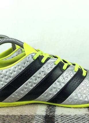 Футзалки adidas ace 16.4 original 40.5 бампы копочки футбольные