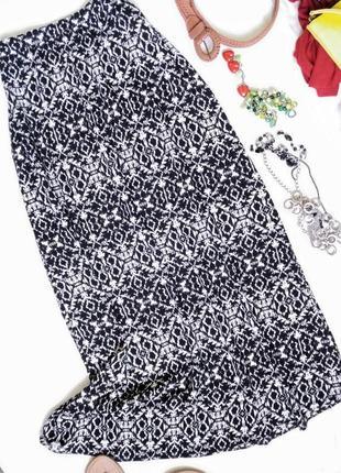 Лёгкая юбка из вискозы