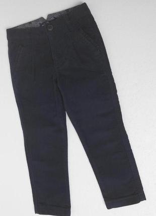 Английские бархатные джинсы на 6 лет.
