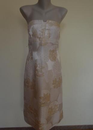 Красивое вечернее платье класса люкс из жаккардовой ткани новое