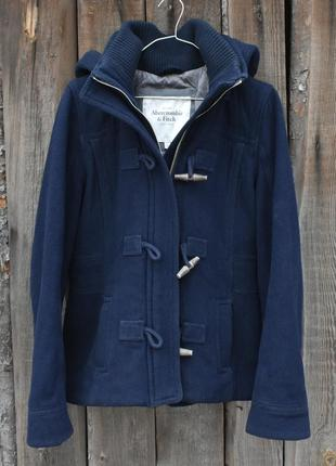 Abercrombie & fitch. оригинал!! женская куртка-парка. сезон: весна-осень, размер l