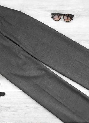 Крутые шипокие брюки/штаны/трубы в принт с завышенной талией miss h