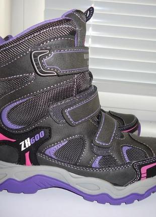 Термо ботинки cortina на мембране deltex 21,5 см. по стельке