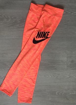 Nike спортивные бриджи лосины xxs оригинал найк