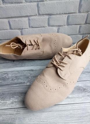 Туфли летние primark 40/41р - 27 см, новые сток