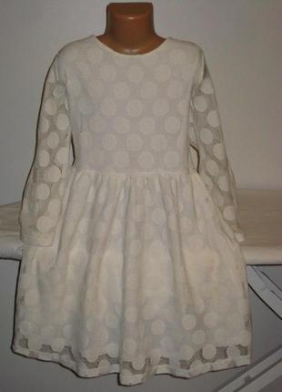 Красивое кружевное платье нм 12лет