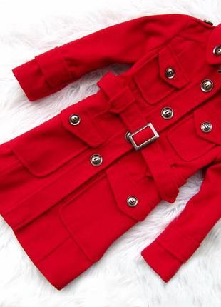 Стильная пальто куртка с поясом next