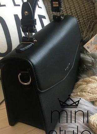 Сумка на длинной ручке cross-body сумочка трендовая и стильная кроссбоди david jones6 фото