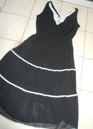 #распродажа!!!#шифоновое платье#dressbarn woman# большой размер 16#