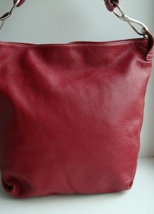 Італійська шкіряна сумка vera pelle