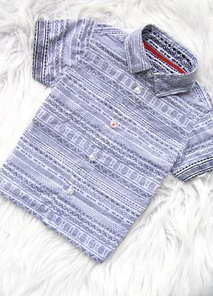 Стильная и качественная рубашка с коротким рукавом matalan
