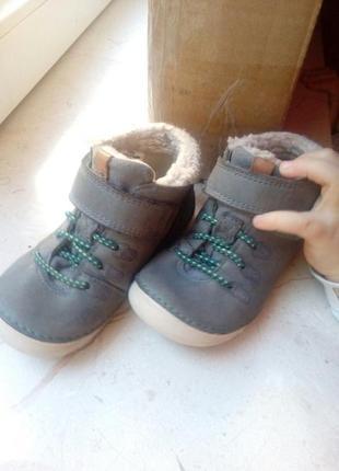 Чобітки ботинки clark's