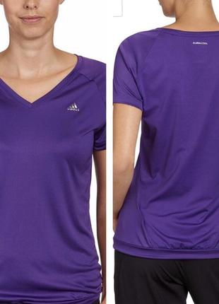 Футболка для спорта adidas climacool футболка для тренировок фитнеса зала