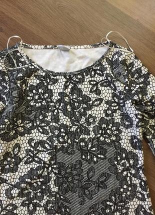 Платье кружевное asos