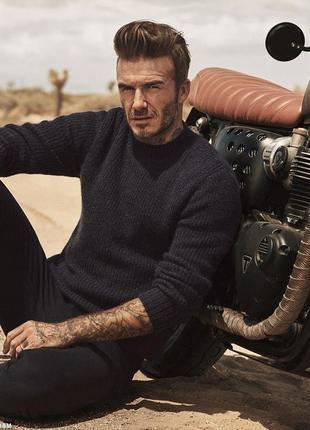 Стильные мужские свитера h&m selected david beckham черный и серый