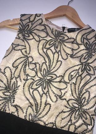 Нарядное платье с пайетками5