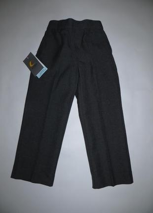 Серые школьные брюки рост 104