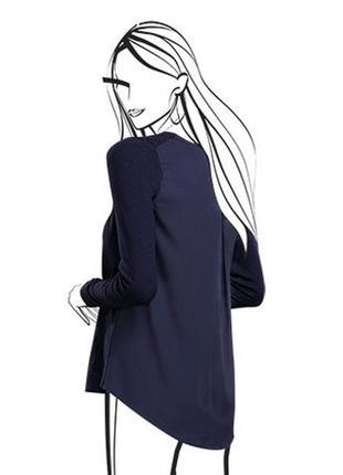 Неординарная новинка для ультрамодных casual-ансамблей - комбинированный пуловер tchibo