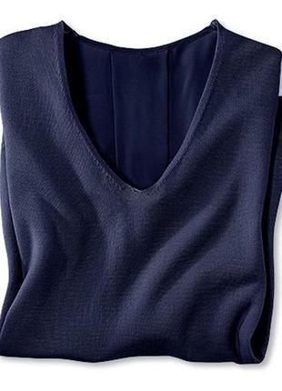 Неординарная новинка для ультрамодных casual-ансамблей - комбинированный пуловер tchibo3 фото