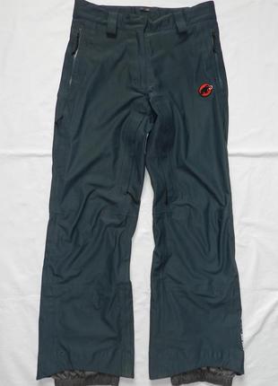 Горнолыжные штаны mammut. gore-tex. size 38