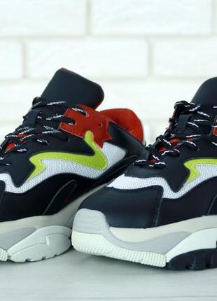 Черные женские кроссовки ash addict