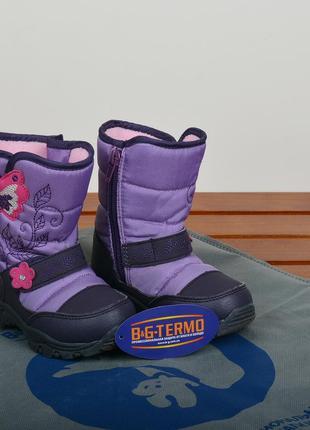 Детские зимние термо-сапожки для девочки - b&g