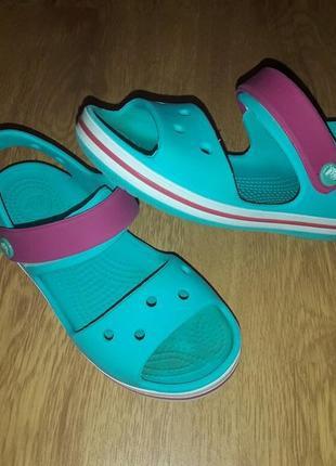 Босоножки crocs сrocband sandals 29р 18,5см