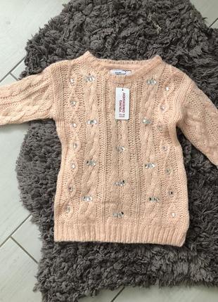 Стильный свитер для девочки