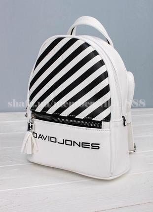 Рюкзак в городском стиле david jones 5965-4 белый