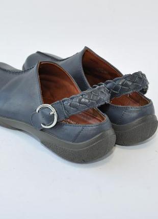 Туфли шлепанцы hotter 38,5р 25см кожа