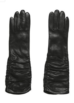 Новые. оригинал. длинные кожаные перчатки roeckl р.8