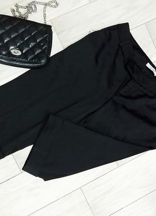 Офисные капри -бриджи черные reserved l/46-48 размер