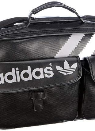 Сумка портфель мессенджер adidas 3 str airline v86382 оригинал
