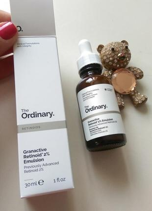 Сыворотка с 2%ретинола granactive retinoid 2%emulsion 30 ml the ordinary