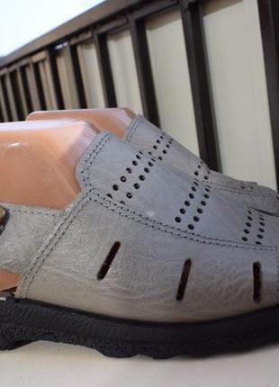 Кожаные босоножки сандали easy walk италия р.10 р.44 27,5