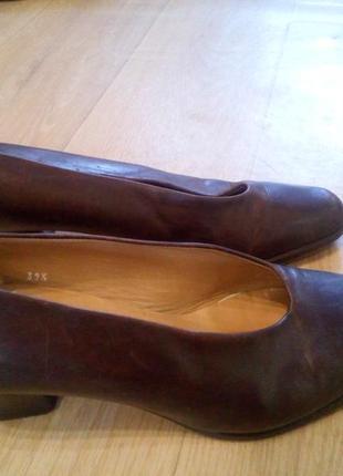 Шкіряні туфлі manfield 392 фото