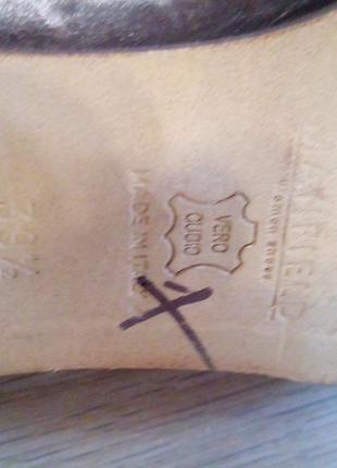 Шкіряні туфлі manfield 394 фото