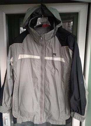 Куртка-ветровка «manguun» р.158-164 демисезон от ветра и дождя на 12-13лет