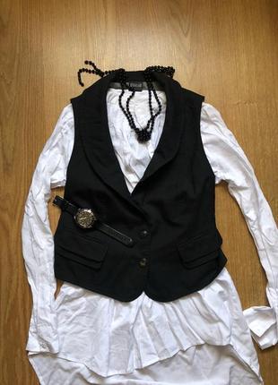 Жилет/тонкая костюмная ткань/wolford/плюс подарок