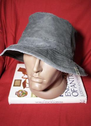 Timberland  винтажная хлопковая шляпа панама  обхват  60-61 см. (xl)