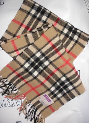 Шарф из овечьей шерсти от шотландского  бренда highland home industries