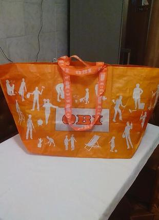 Брендовая,большая сумка,покупочная,дорожная,от германского бренда.