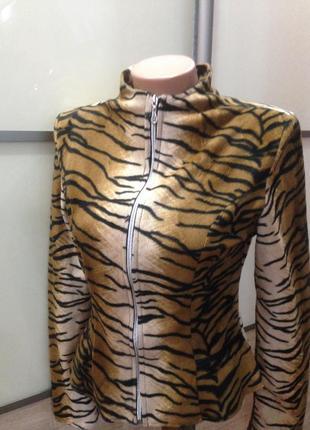 Леопардовый джемпер от бренда natali magidova ❀ продажа / обмен