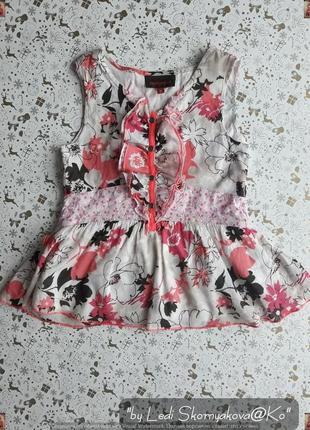 Новое красочное платье/сарафан со 100 % натурального хлопка на девочку 5-6 лет