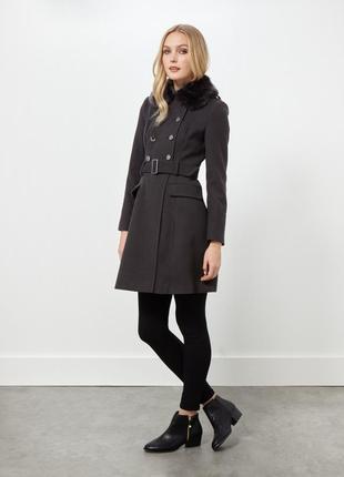 Miss selfridge пальто в стиле милитари