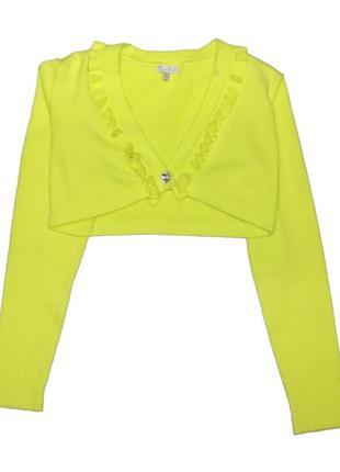 Новое желтое болеро для девочки, mayoral, 56354